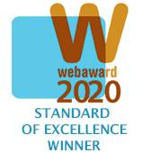 2020 WMA Web Award Winner for Standard of Excellence in Web Design